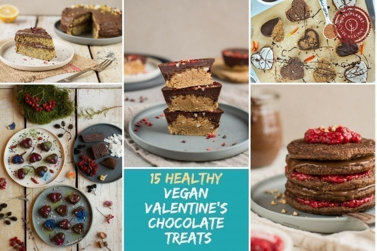15 Healthy Vegan Valentine's Chocolate Treat Recipes
