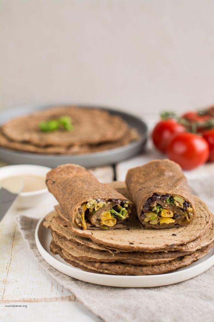 Flavoured Gluten-Free Tortillas