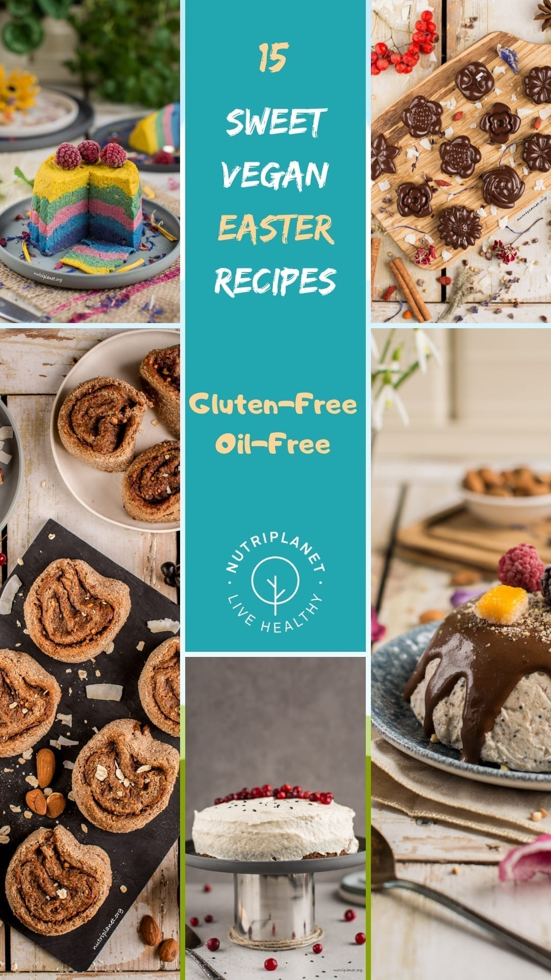 15 Sweet Vegan Easter Recipes