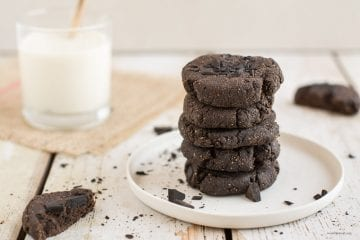 Vegan Paleo Chocolate Chip Cookies without Cocoa