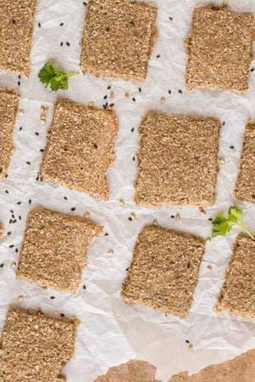 Gluten-Free Sprouted Crackers