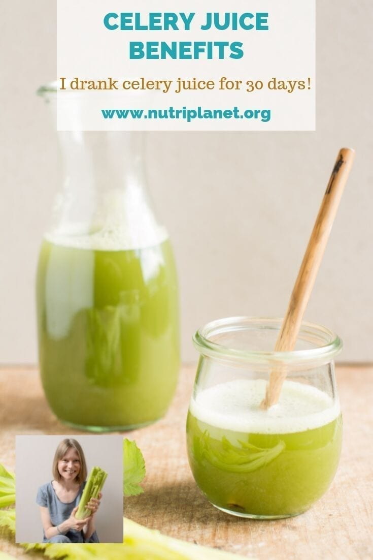 Celery juice benefits, my experience and the correct way to drink it