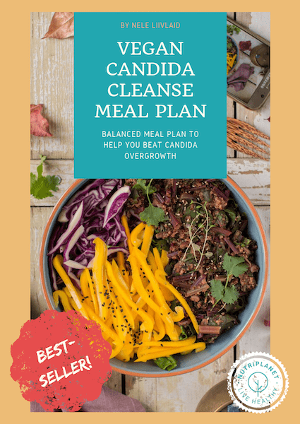 Vegan Candida Cleanse Meal Plan cover