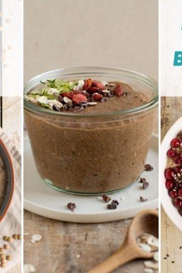 Low carb vegan breakfast porridge guide