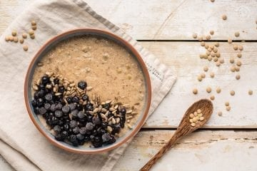 Low carb lentil oatmeal