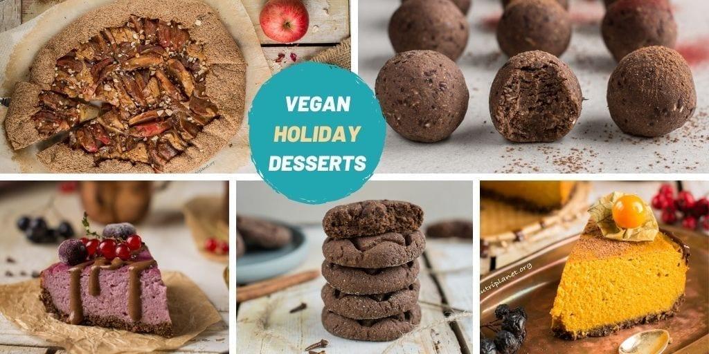 Holiday Dessert Recipes: Healthy, Vegan, Refined Sugar Free   Nutriplanet